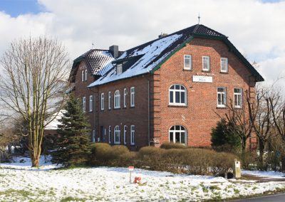 Agentur in Haseldorf im Winter