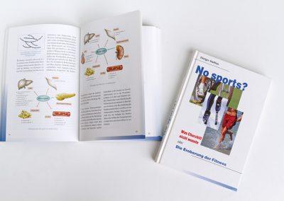 Buchgestaltung und Illustration zum Thema Ausdauersport.