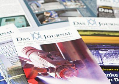 Firmenzeitschrift Metallveredlungsbetrieb.