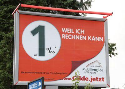 Großplakat im Kreis Pinneberg.