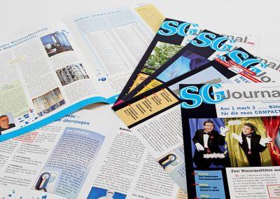 Vierteljährlich erscheinende Zeitschrift für einen Laborgerätehersteller.