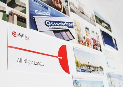 Diverse Werbe-, Gruß- und Eventpostkarten.