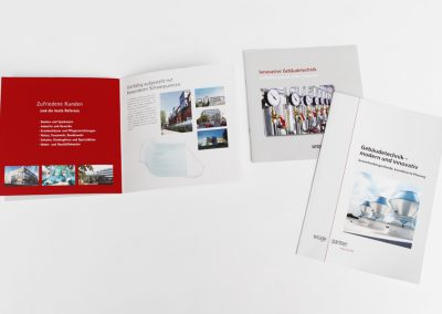 Imageprospekte für das Ingenieurbüro Wrage & Partner, Mölln, in Kooperation mit...