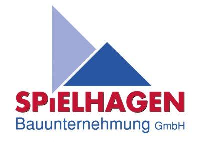 Logoentwicklung für die Bauunternehmung Spielhagen aus Haseldorf.