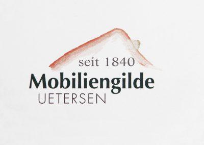 Logoentwicklung für die Mobiliengilde Uetersen.