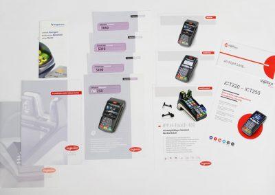 Erstellung div. Produktprospekte für Ingenico Deutschland
