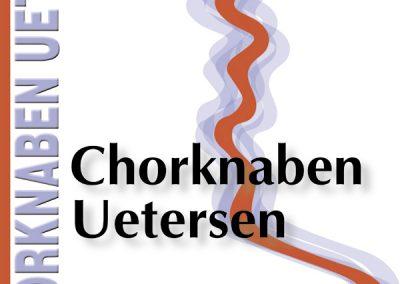 Logomodifizierung und Plakatvorlage für die Chorknaben Uetersen