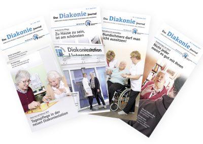 Vierteljährlich erscheinende Journale für die Diakoniestation Uetersen